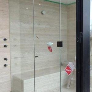 Instalação vidro temperado