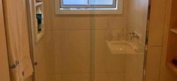 Box de banheiro aço inox